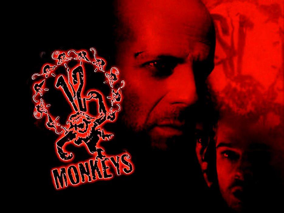 TWELVE MONKEYS mystery sci-fi thriller (9) wallpaper