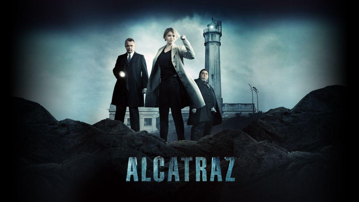 TV series Alcatraz wallpaper