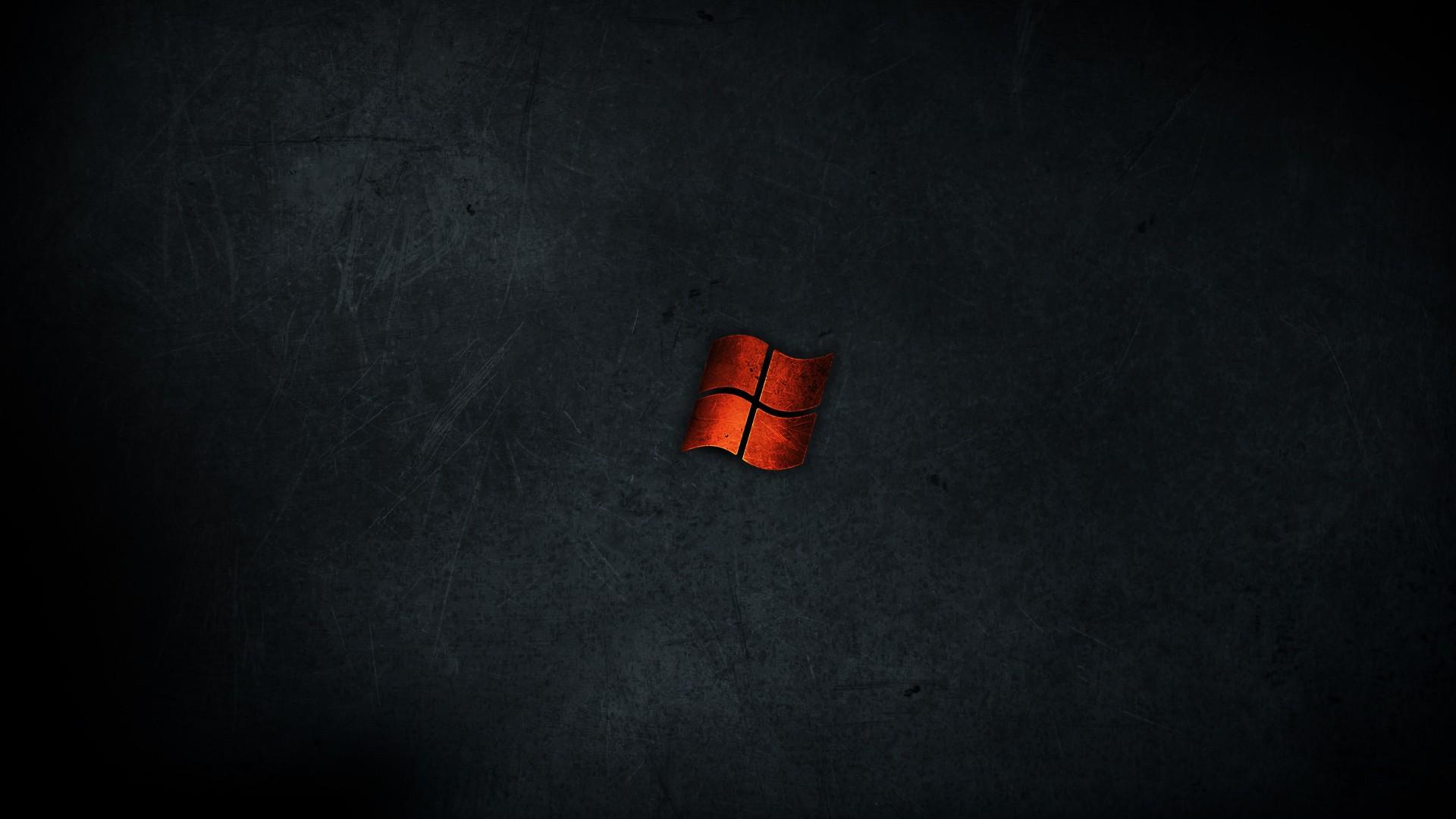 Minimalistic Dark Red Metal Windows Wallpaper 1920x1080 226437