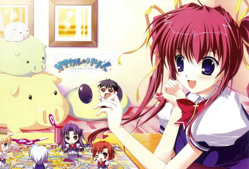 anime girls Mikeou wallpaper