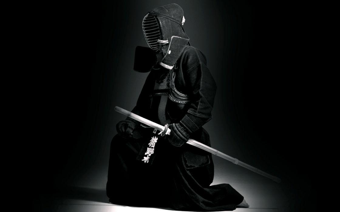 kendoka kendo bogu shinai martial art japan men kote do tare wallpaper