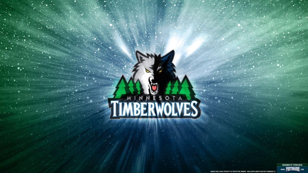 MINNESOTA TIMBERWOLVES nba basketball (12) wallpaper