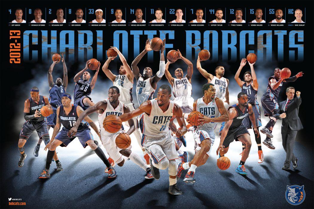 CHARLOTTE BOBCATS nba basketball (20) wallpaper