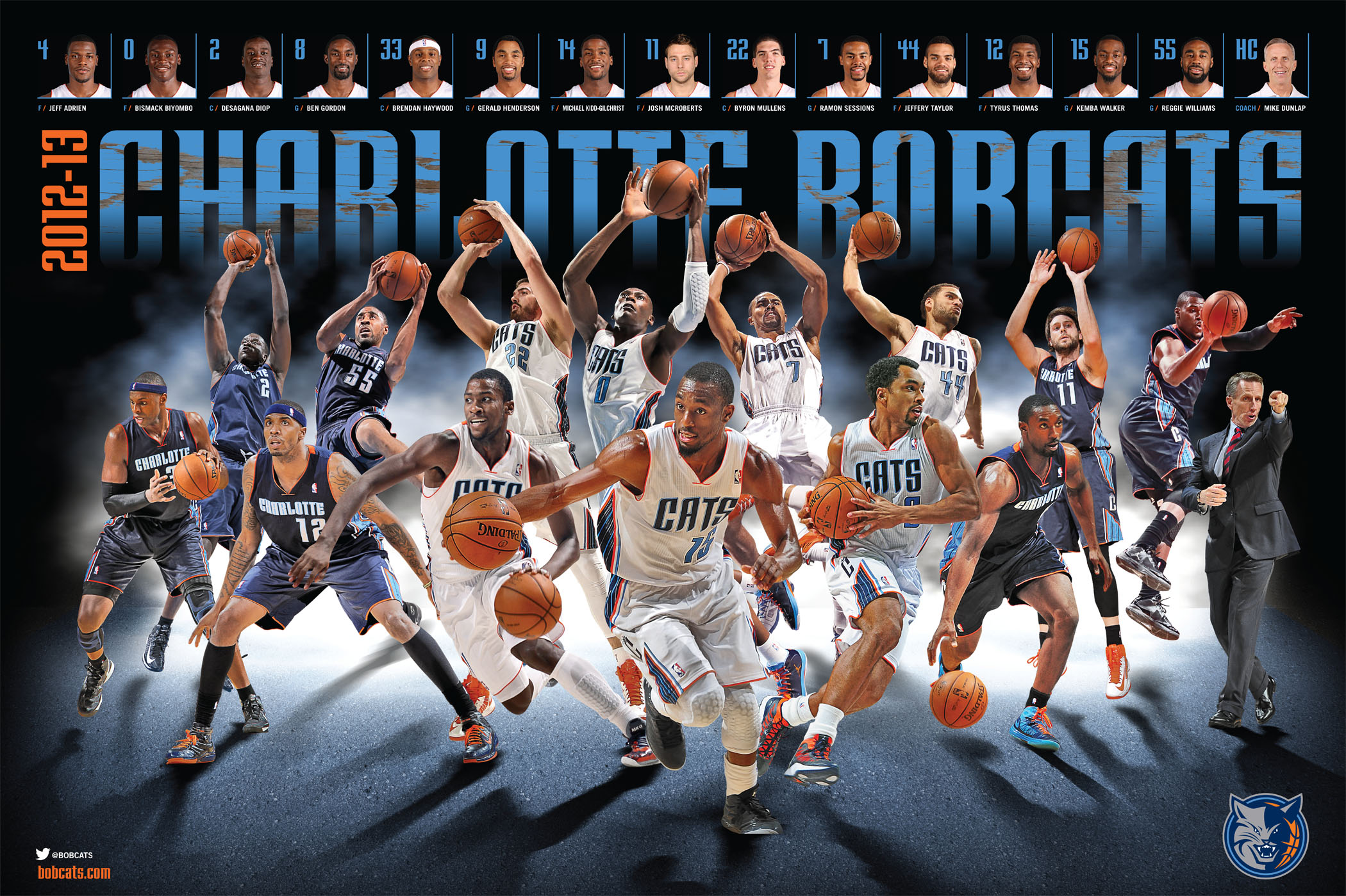 Charlotte Bobcats Nba Basketball 20 Wallpaper 2100x1399 226780