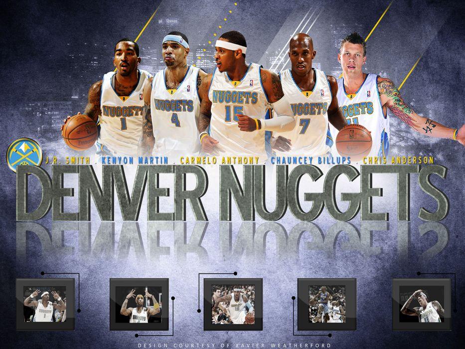 DENVER NUGGETS nba basketball (33) wallpaper