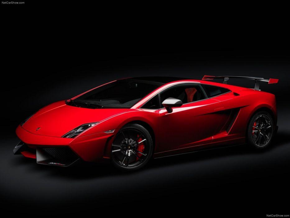 red cars Lamborghini Gallardo Lamborghini Gallardo LP570-4 Super Trofeo Stradale wallpaper