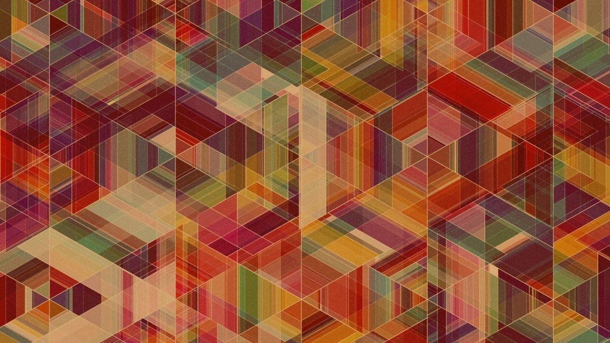 abstract multicolor patterns Simon C_ Page wallpaper