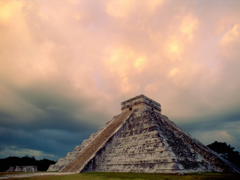 architecture buildings Mexico archeology temples pyramids Mayan wallpaper