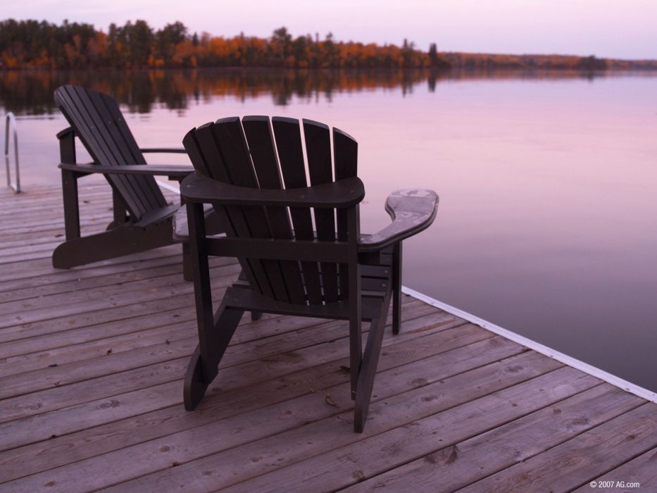 nature chairs wallpaper