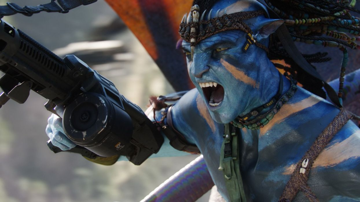 Avatar Invasion fight scene wallpaper