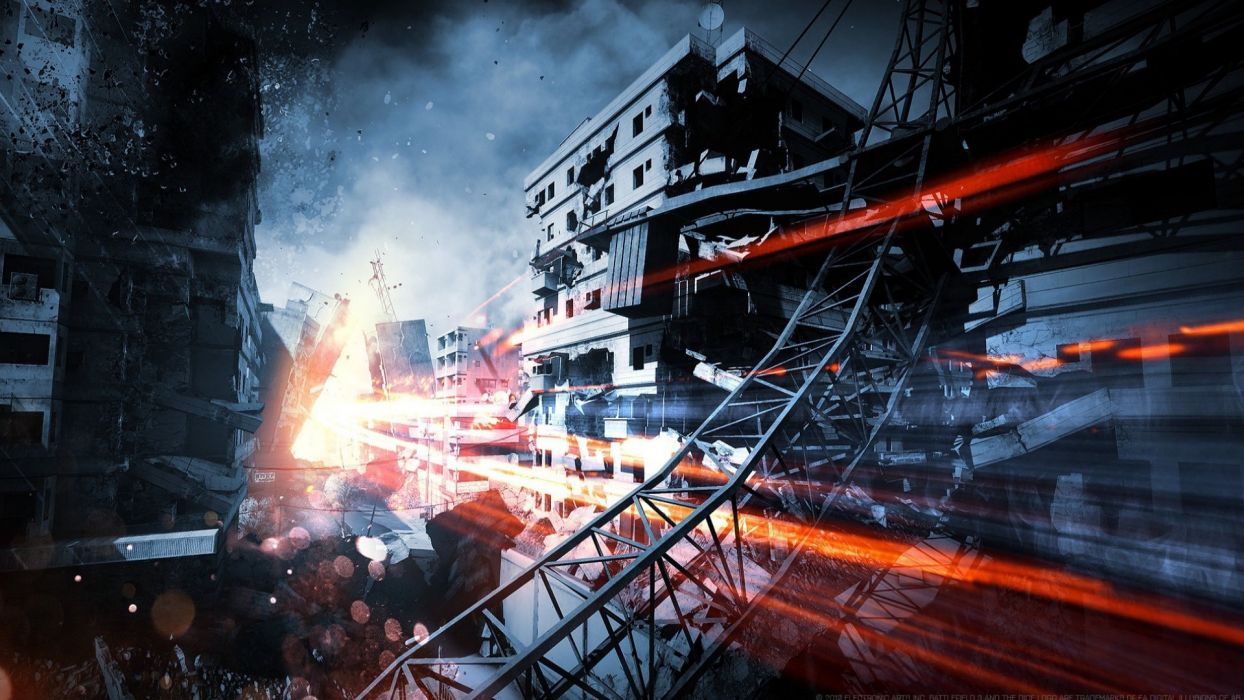 dice aftermath artwork Battlefield 3 Electronic Arts premium wallpaper