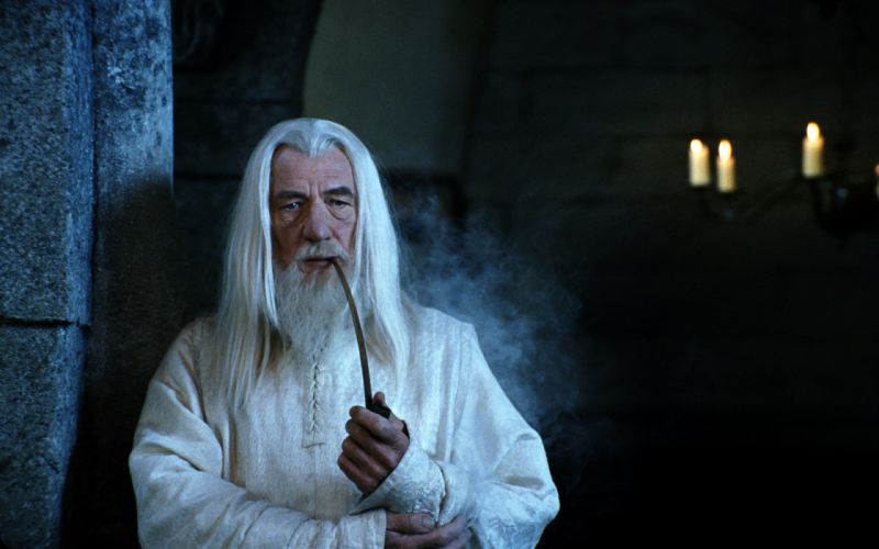 Gandalf The Lord of the Rings Ian Mckellen The Return of the King wallpaper