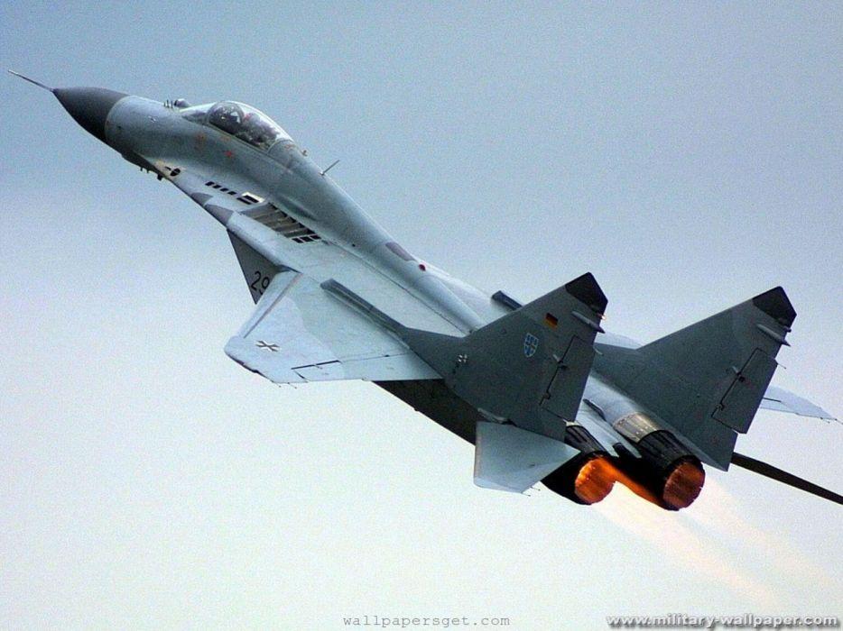 aircraft MIG wallpaper