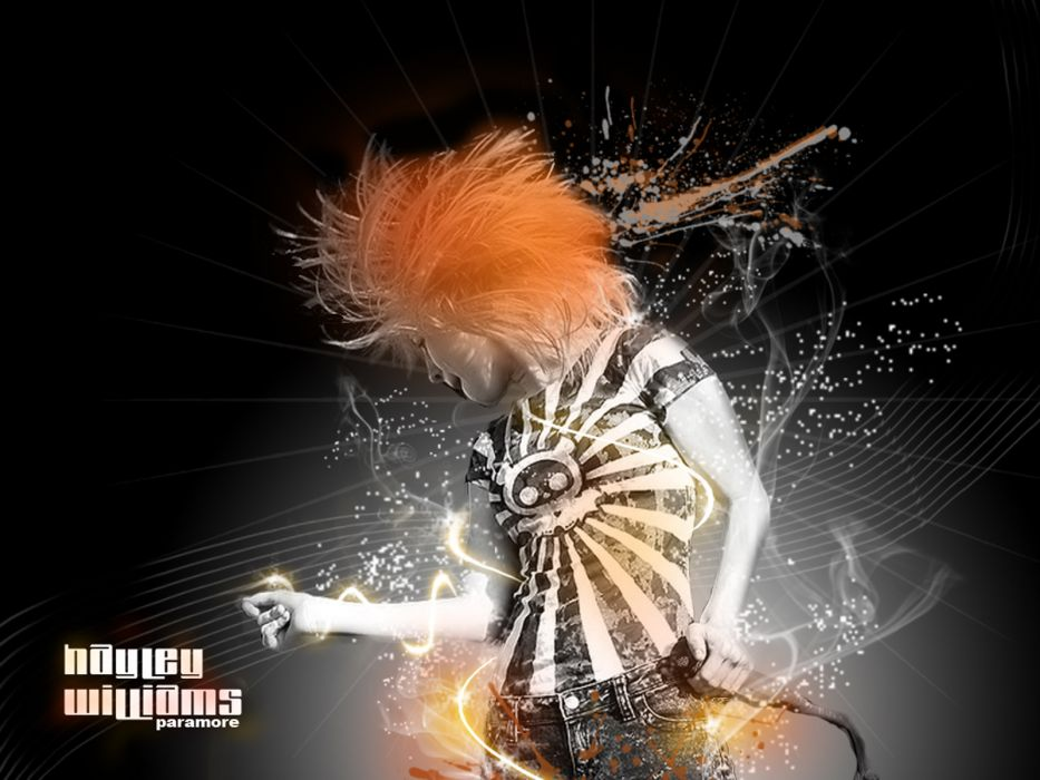 Hayley Williams Paramore women music redheads celebrity singers wallpaper