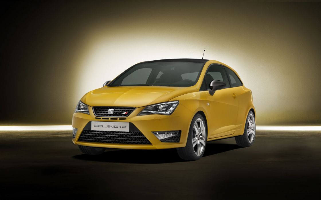 vehicles Seat Ibiza yellow cars Seat Ibiza wallpaper