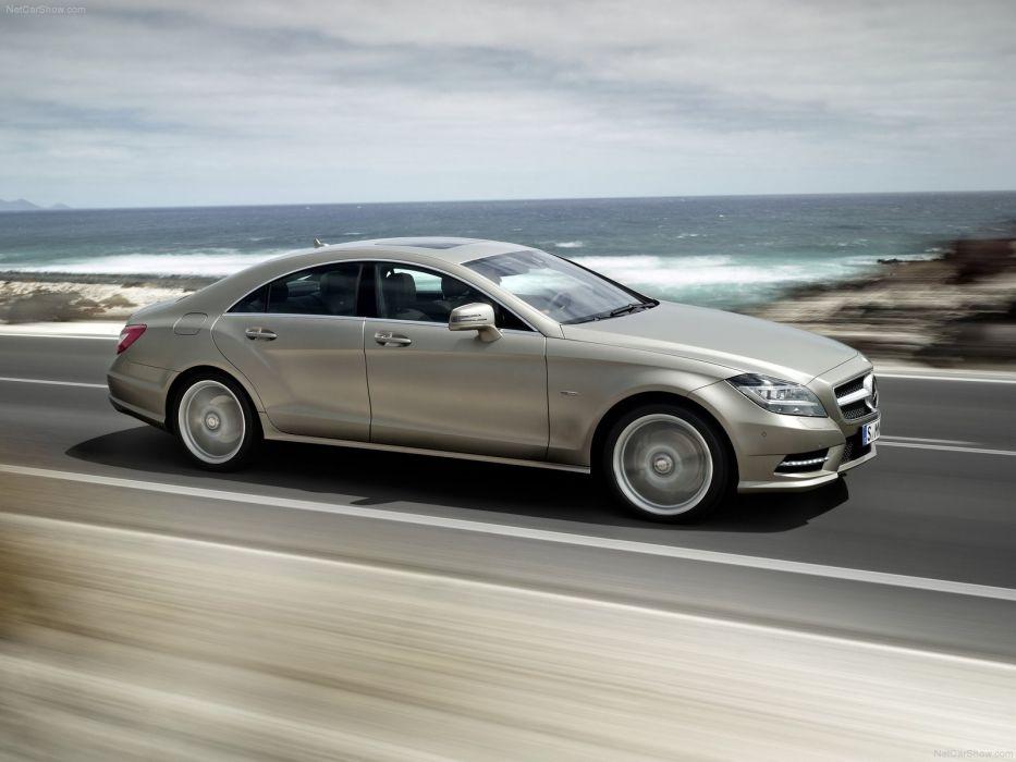 cars silver Mercedes-Benz CLS-Class Mercedes-Benz wallpaper