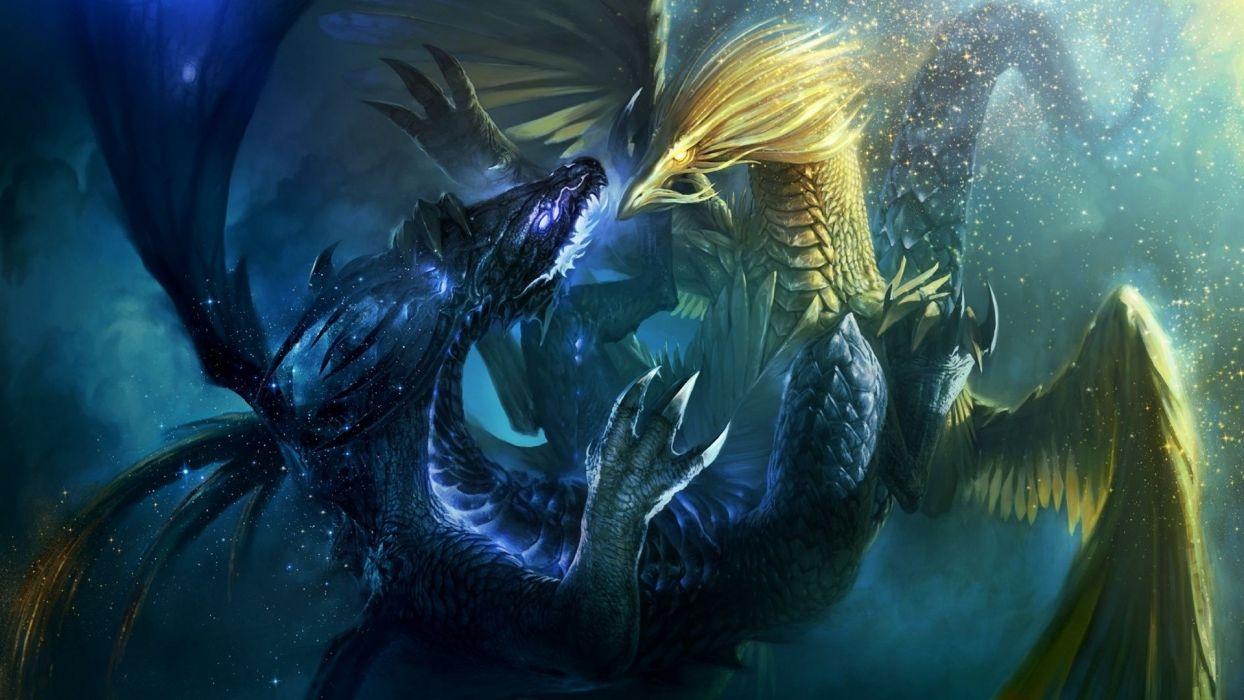 video games dragons fantasy art battles artwork Heroes Of Might And Magic VI wallpaper