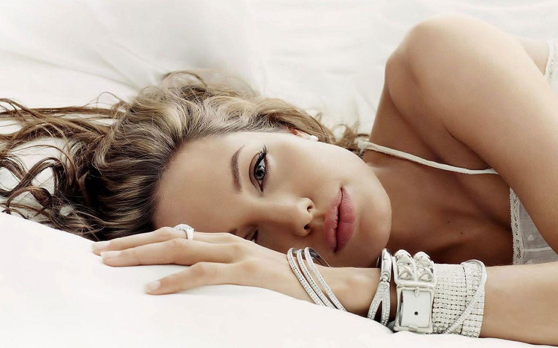 women Angelina Jolie celebrity bracelets faces wallpaper
