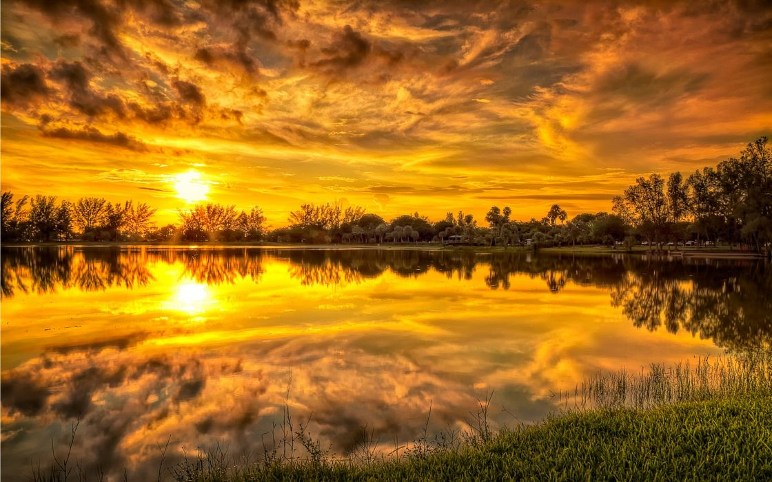 landscapes HDR photography wallpaper