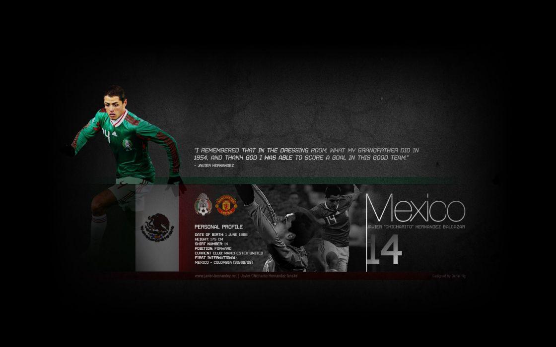 Manchester United FC Javier Hernandez wallpaper