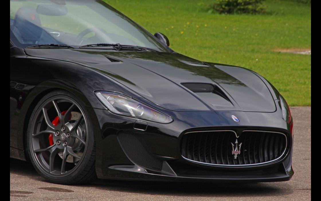 cars Maserati GranCabrio detail Novitec Tridente wallpaper