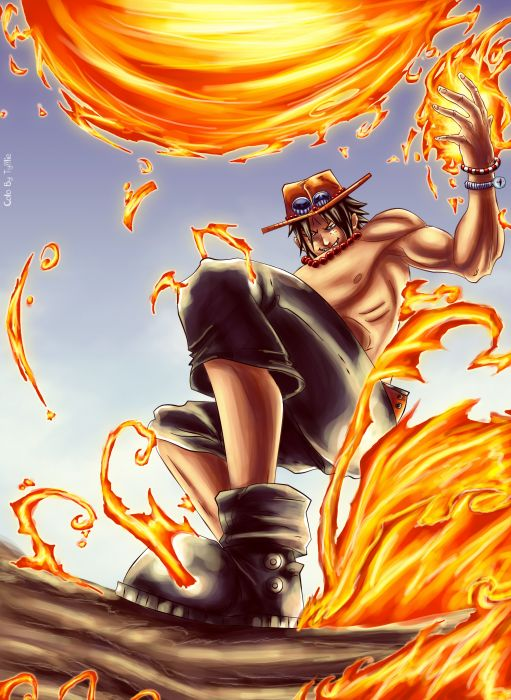 One Piece (anime) Ace Portgas D Ace wallpaper