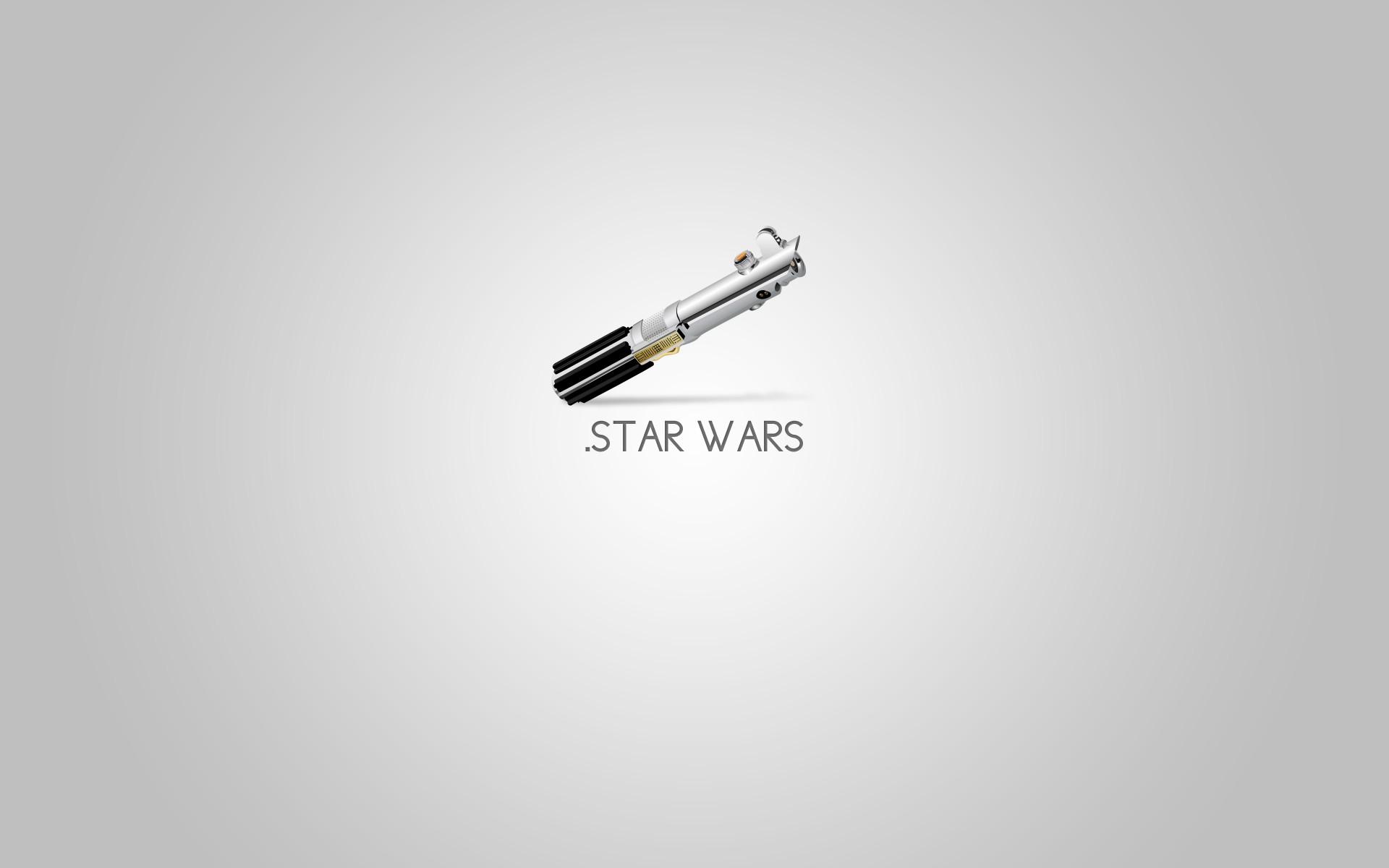 Star Wars Minimalistic Movies Lightsabers Wallpaper
