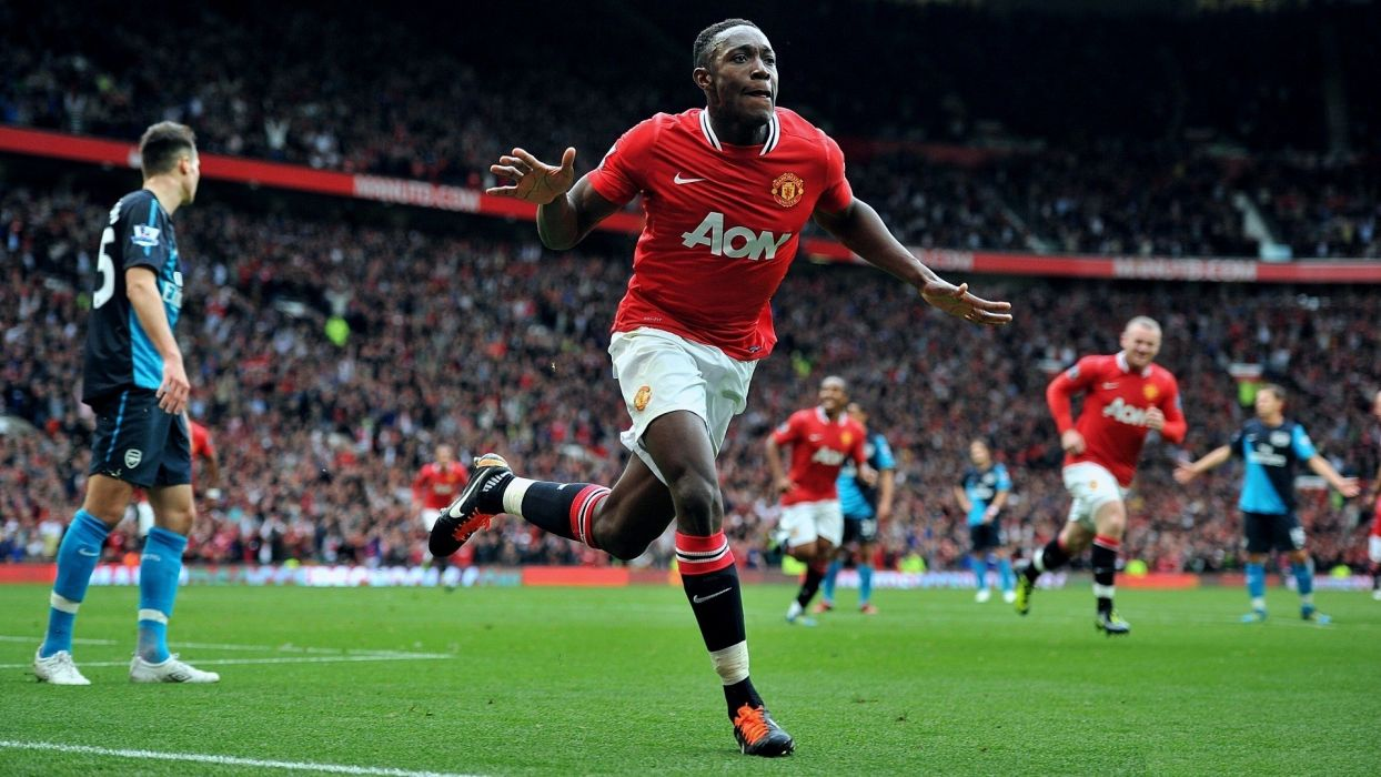 sports soccer Manchester United FC Wayne Rooney Danny Welbeck wallpaper