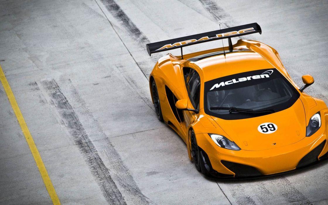 cars vehicles supercars McLaren orange cars wallpaper