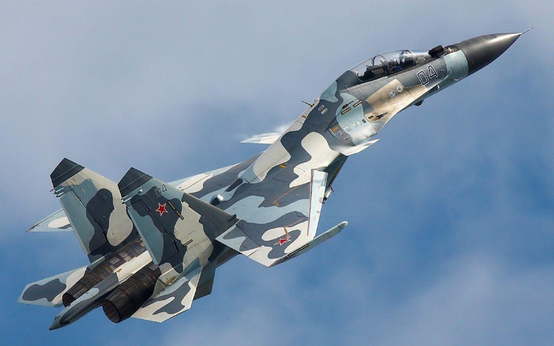 aircraft Russia air force Su-35 Flanker-E Su-30MKI fighter jets wallpaper