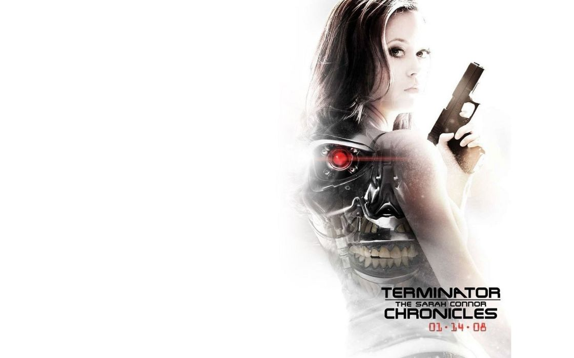 Terminator actress Summer Glau Terminator The Sarah Connor Chronicles TV series wallpaper