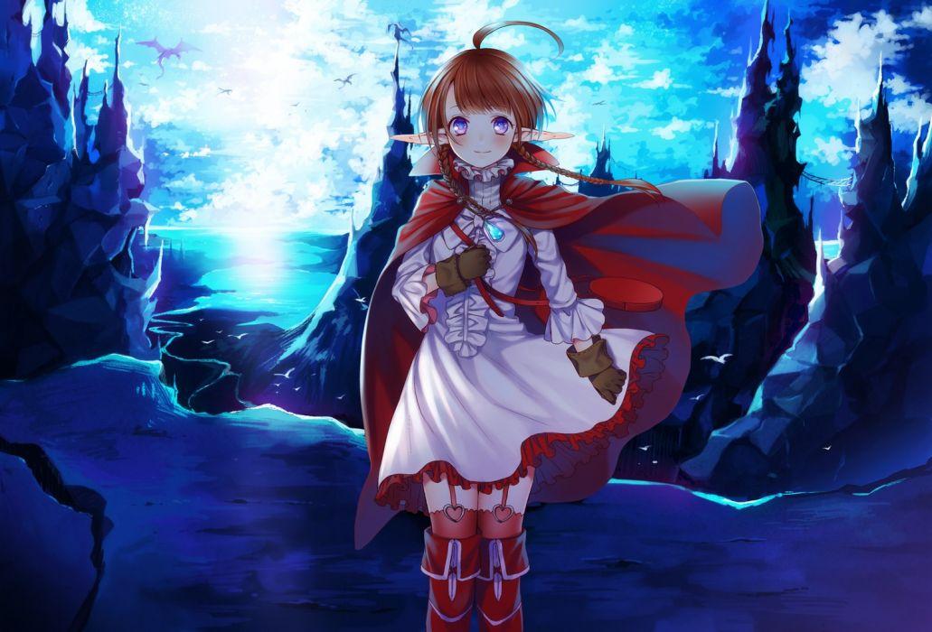 Video Games Dragons Gloves Dress Fire Emblem Fantasy Art