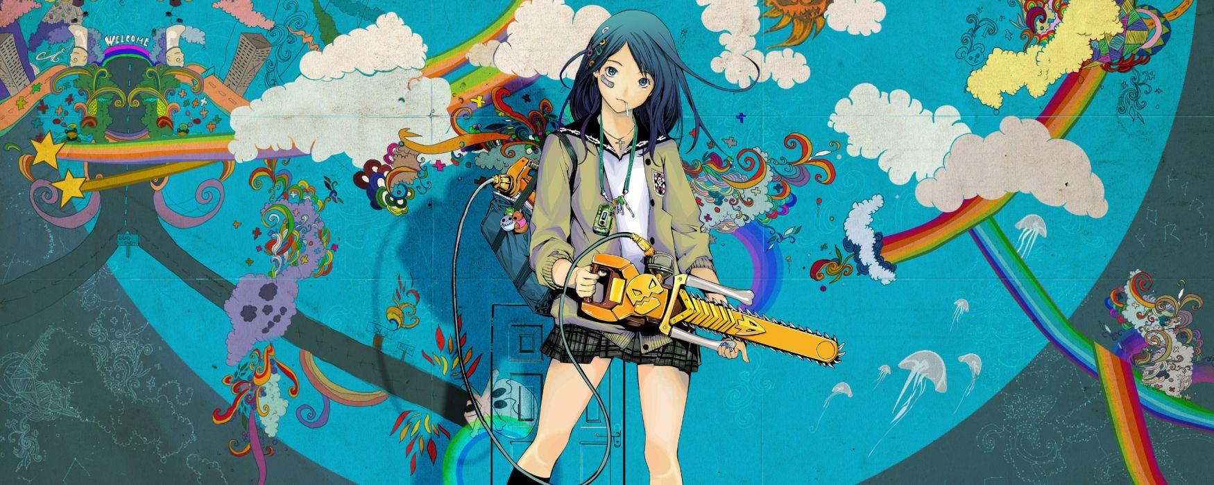 Air Gear anime anime girls wallpaper