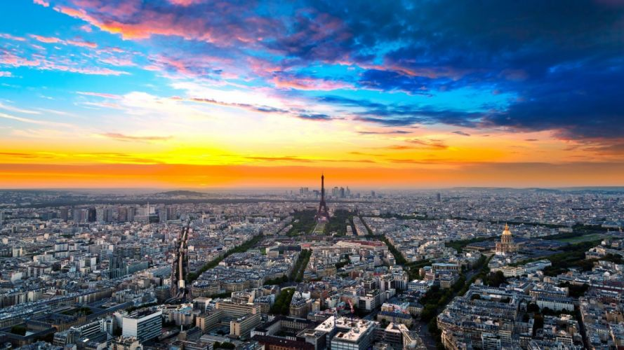 Paris cityscapes France skyscapes wallpaper