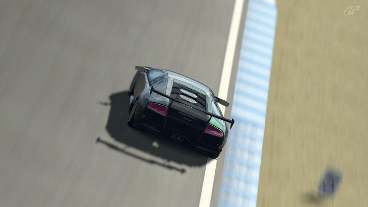 video games cars Gran Turismo 5 Lamborghini MurciAIA wallpaper