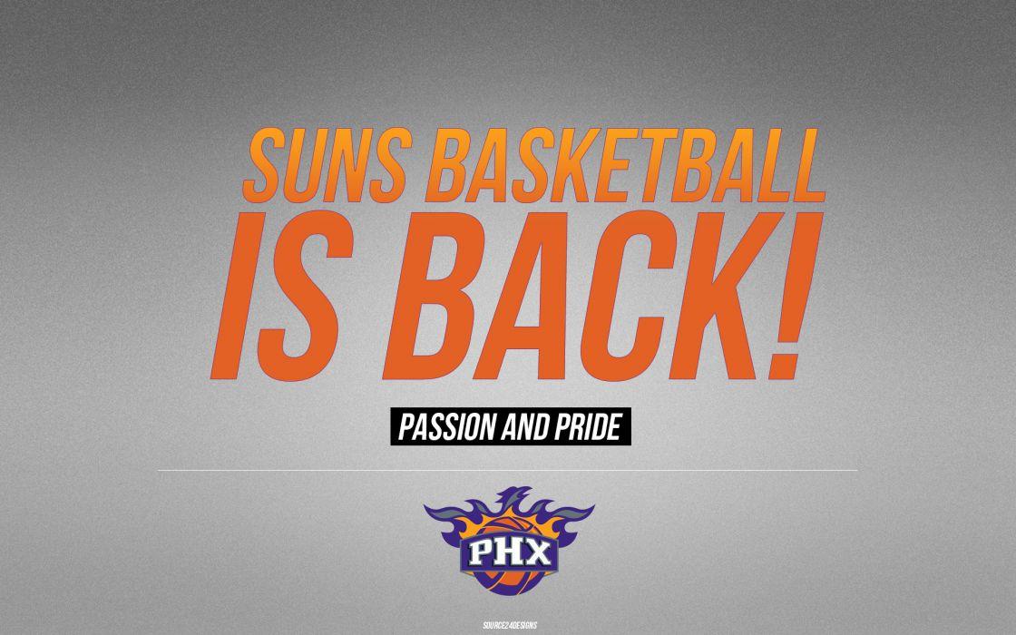 PHOENIX SUNS nba basketball (1) wallpaper