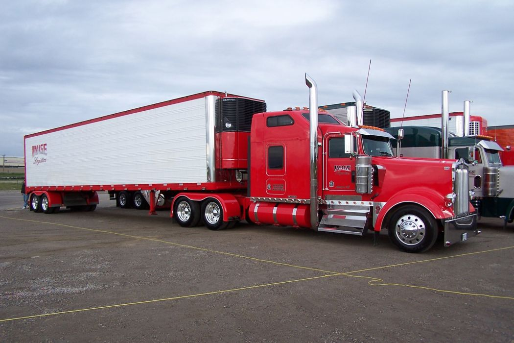 Tom Johns aei 1999 Kenworth W900 wallpaper