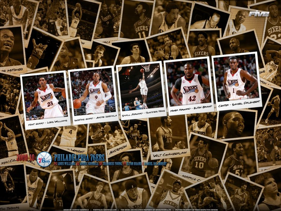 PHILADELPHIA 76ers nba basketball (3) wallpaper