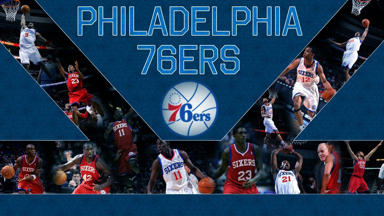 PHILADELPHIA 76ers nba basketball (8) wallpaper