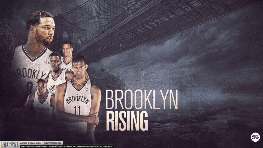BROOKLYN NETS nba basketball (13) wallpaper