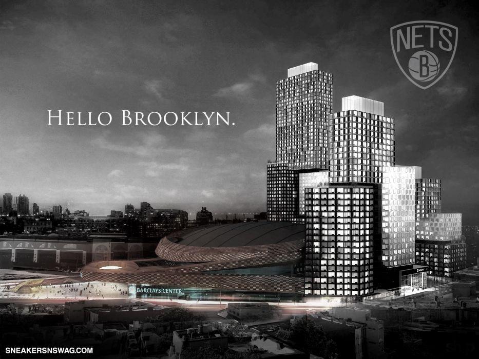 BROOKLYN NETS Nba Basketball 52 Wallpaper