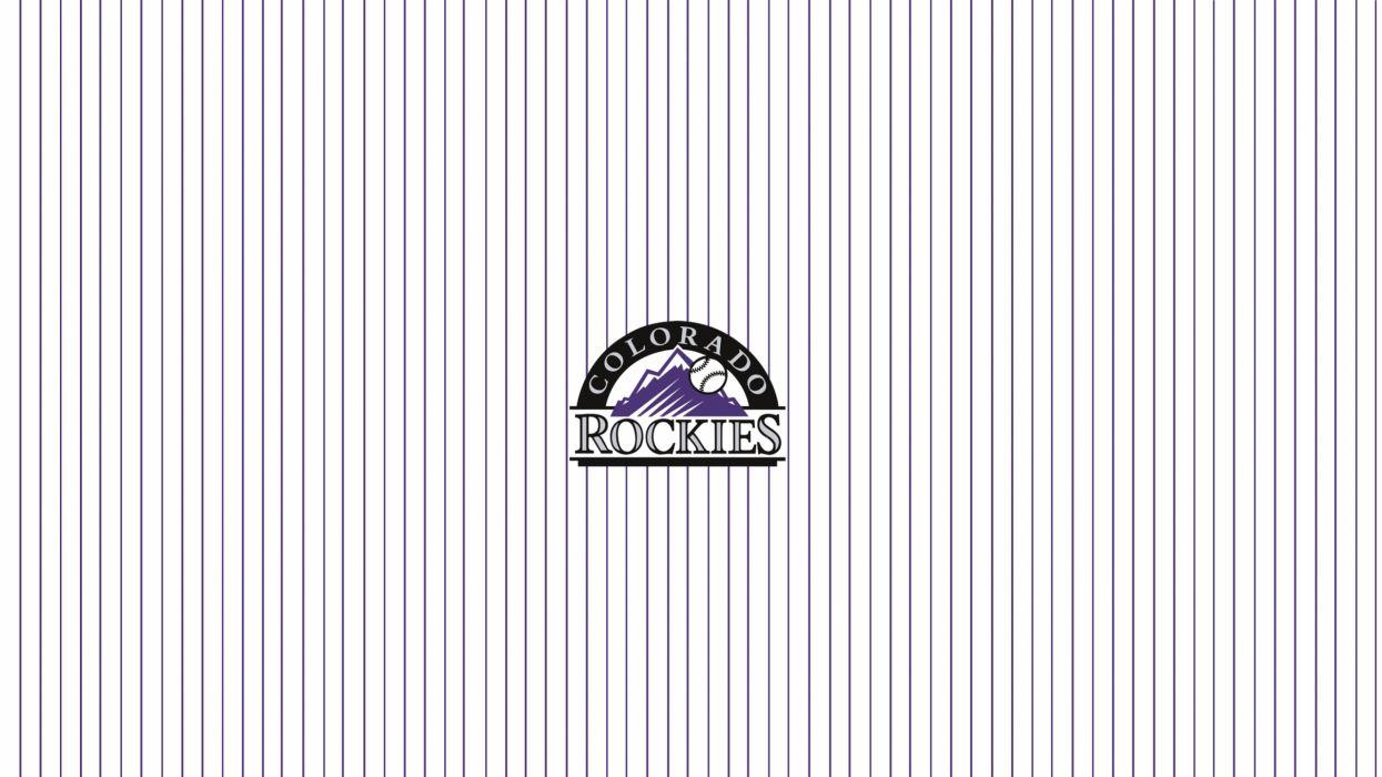 COLORADO ROCKIES baseball mlb (40) wallpaper