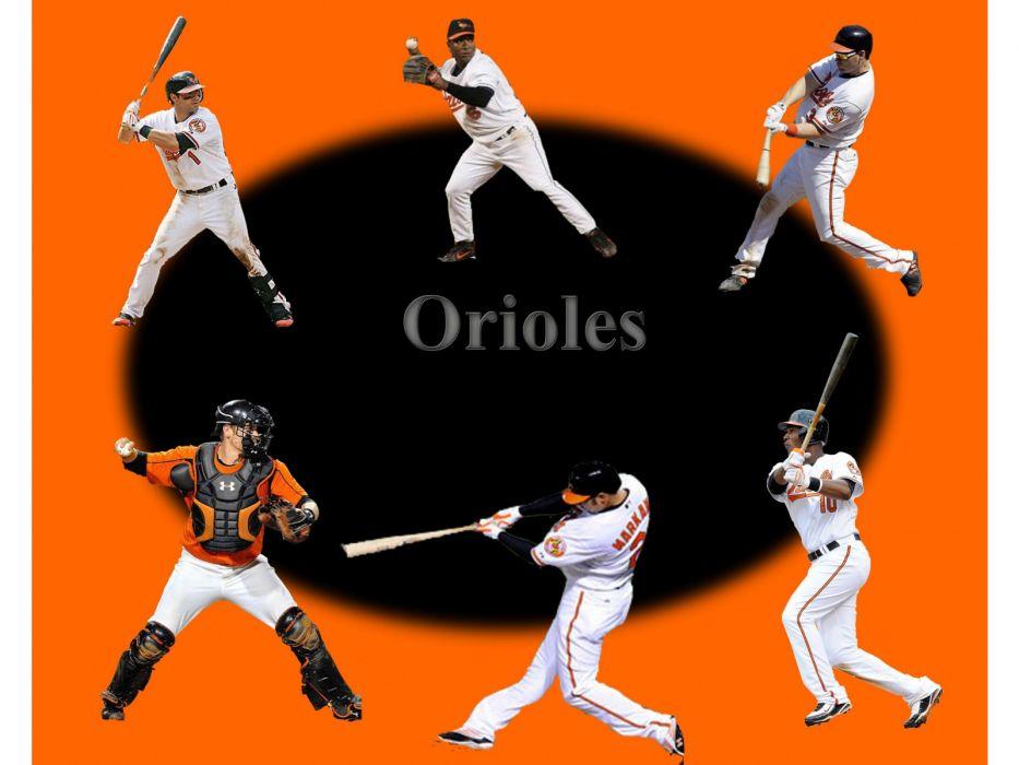 BALTIMORE ORIOLES mlb baseball (19) wallpaper