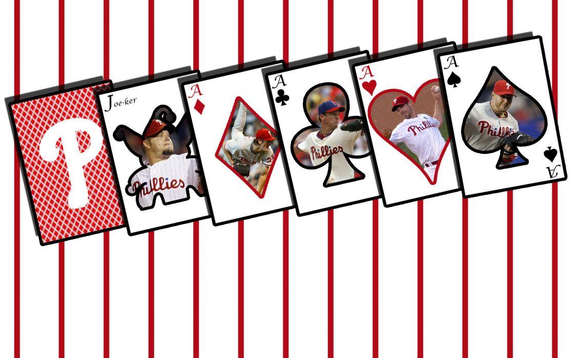 PHILADELPHIA PHILLIES mlb baseball (2) wallpaper