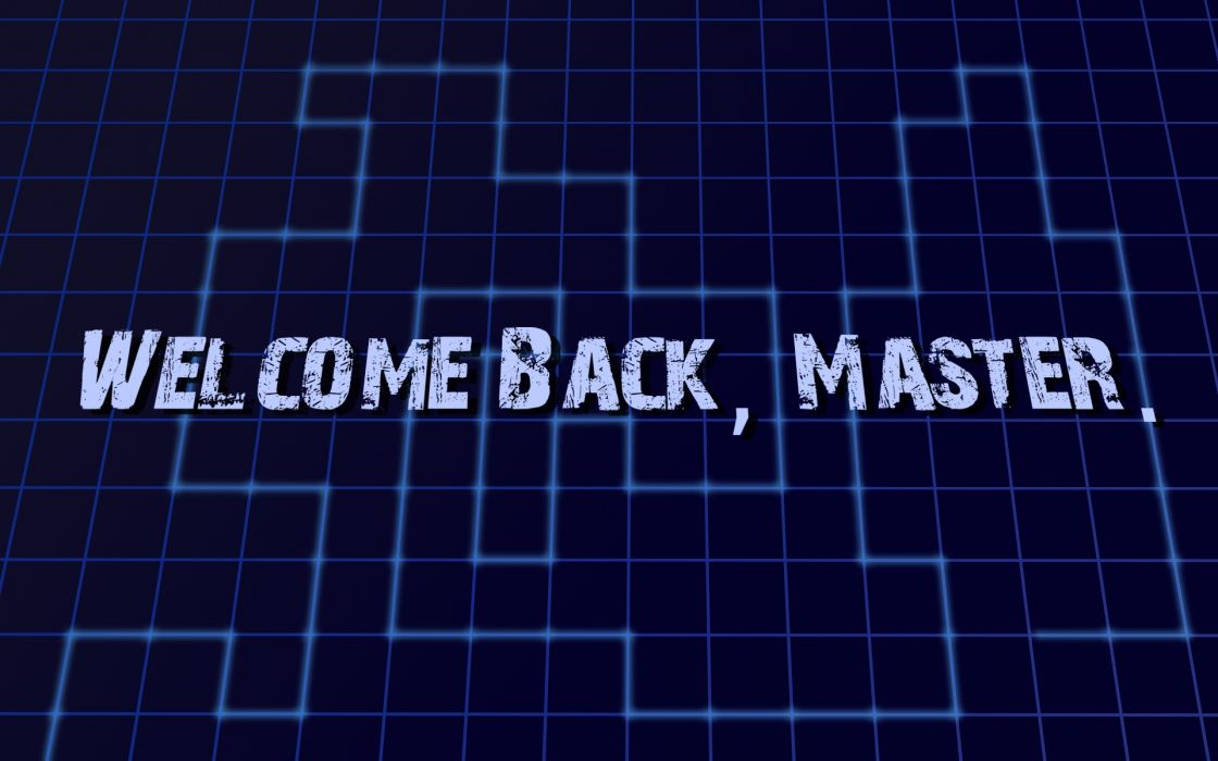 back master grid welcome wallpaper