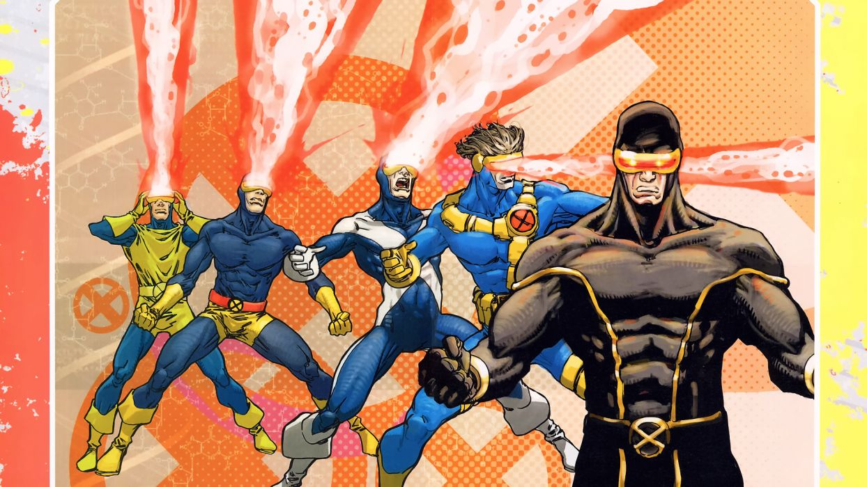 Comics X Men Marvel Cyclops Wallpaper