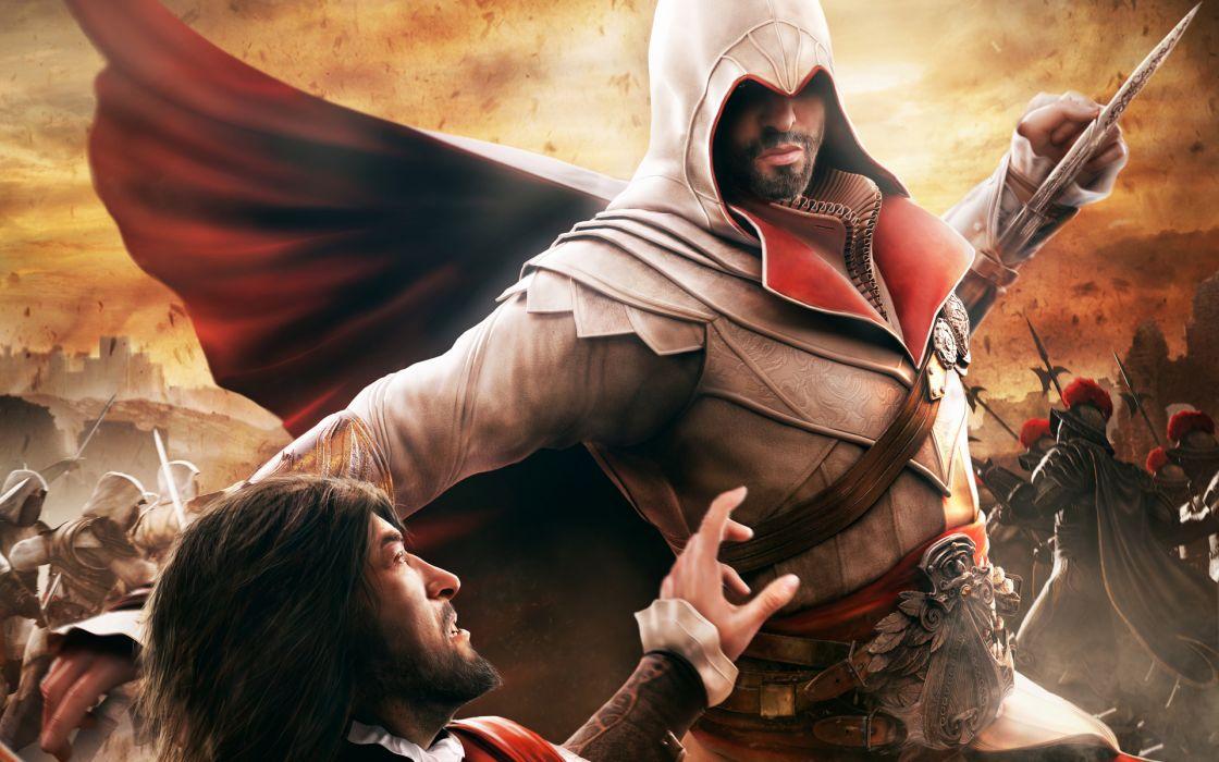 video games Ezio Assassins Creed Brotherhood wallpaper