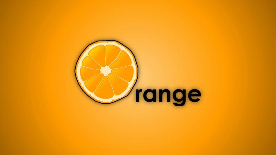 yellow orange fruits oranges simplistic wallpaper