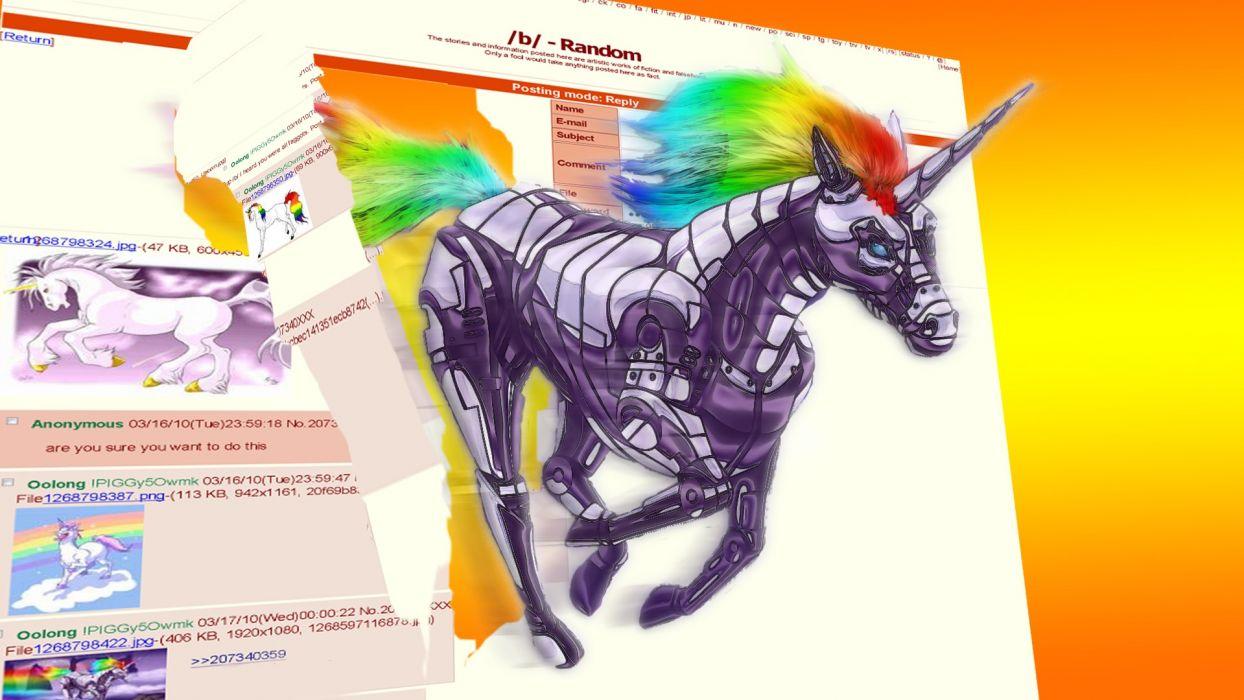 robot robot unicorn attack wallpaper