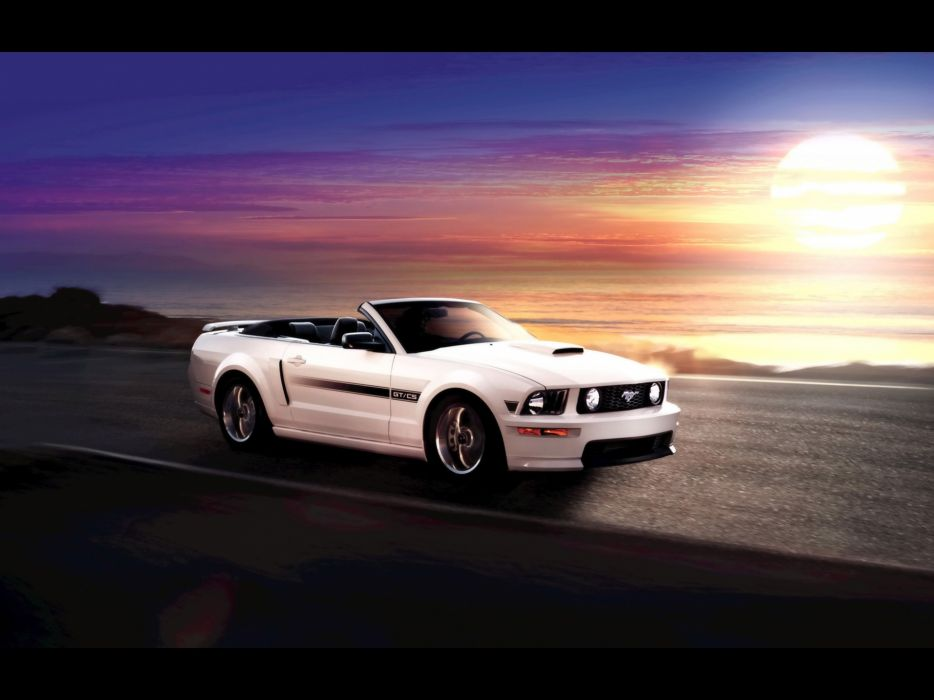 muscle cars California vehicles Ford Mustang Ford Mustang GT wallpaper
